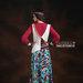 24 baju muslim motif geometric - belakang
