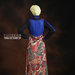 25 long dress muslim gaya boho - belakang b
