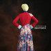 28 Maxi dress gaya boho - belakang