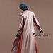 Abaya Jubah Simpel Elegan - belakang