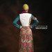 33 Dress terbaru muslim cantik - belakang
