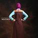 34 Maxi dress muslim simple  - belakang