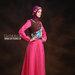 36 Baju muslim modis pink - kanan