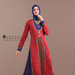 38 Abaya Dress Merah Ungu