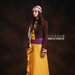 39 Long dress muslim with drapery - kiri