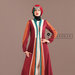 40 Jubah Abaya Modern Maroon