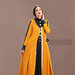 63 Jubah Abaya Modern Kuning