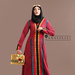 65 Abaya dress merah terkini