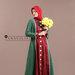 68 Abaya jubah merah hijau
