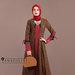 94 Abaya Cantik Elegan Coklat