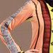 08 Abaya Jubah Feminin Elegan - detail a