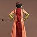 Abaya Jubah Feminin Elegan - belakang