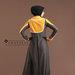 Abaya Modern Bordir Elegan - belakang