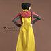 Abaya Dress Unik Terbaru - belakang