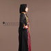 Abaya Dress Hitam Elegan - kanan