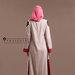 Abaya Dress Feminin Elegan - belakang