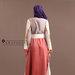 Abaya Jubah Elegan Feminin - belakang
