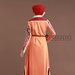 Abaya Jubah Batik Terbaru - belakang