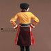 short dress terbaru hanbok - belakang