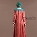56 Abaya Coat Muslim Terkini - belakang