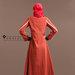 59 Abaya Dress Unik Terkini - belakang