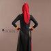 67 Abaya Turki Bordir Terbaru - belakang