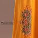 77 Long Dress Feminin Bordir - detail b
