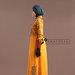 77 Long Dress Feminin Bordir - kiri