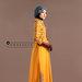 77 Long Dress Feminin Bordir - kanan