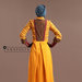77 Long Dress Feminin Bordir - belakang