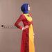 88 Long Dress Muslim Pesta - kanan