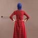 88 Long Dress Muslim Pesta - belakang