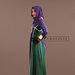 91 Abaya Dress Elegan Eksklusif - kiri