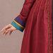 Abaya Modern Merah Detail b