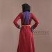 Abaya Modern Merah Belakang