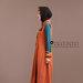 05 Abaya Modern Terracotta Kiri
