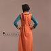 05 Abaya Modern Terracotta Belakang