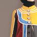 Abaya Modern Bordir Elegan - detail a