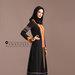 Abaya Dress Hitam - kanan