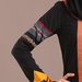 Abaya Dress Hitam - detail a