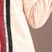 Abaya Modern Peach - detail texture b