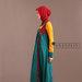 49 Abaya Dress Bordir Tosca - kiri