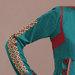 62 Abaya Bordir Terbaru - detail a