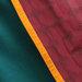 64 Jubah Abaya Modern Maroon Hijau - detail b