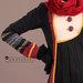66 Abaya Dress Motif Ulos - detail a