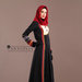66 Abaya Dress Motif Ulos - kanan