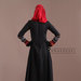 66 Abaya Dress Motif Ulos - belakang