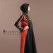 70 Abaya Modern Motif Ulos - kanan