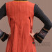 70 Abaya Modern Motif Ulos - detail b