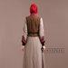 73 Abaya Dress Elegan - belakang